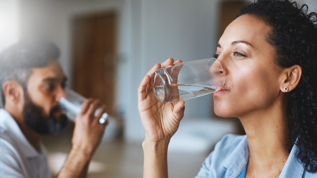 Water, the brain and energy: drink two litres a day